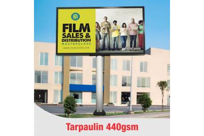 UV Printing 440gsm Tarpaulin Billboard