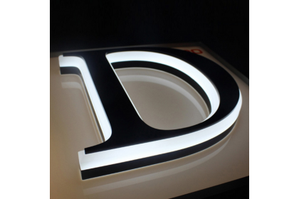 3D LED Acrylic Mini Lettering Sign Illuminated Acrylic