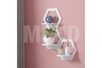 ins style wall shelf wall decoration rack wall hanger handphone stand wall display rak dinding网红墙上置物架卧室床头墙壁挂钩收纳挂架客厅装饰