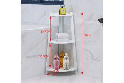 Bathroom corner rack waterproof shampoo storage modern design rack simple organizer multilayer rack rak