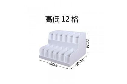 Belt storage box double layer multi space bedroom easy simple organizer tabletop waterproof rack